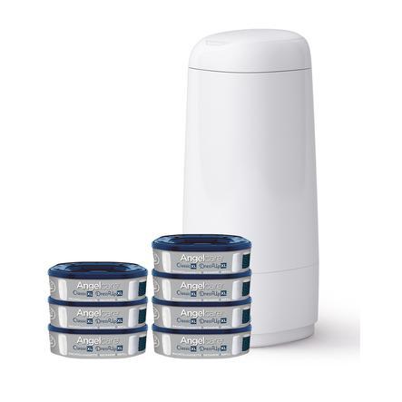Angelcare® bleiehale Dress Up XL + 7 påfyllingskassetter