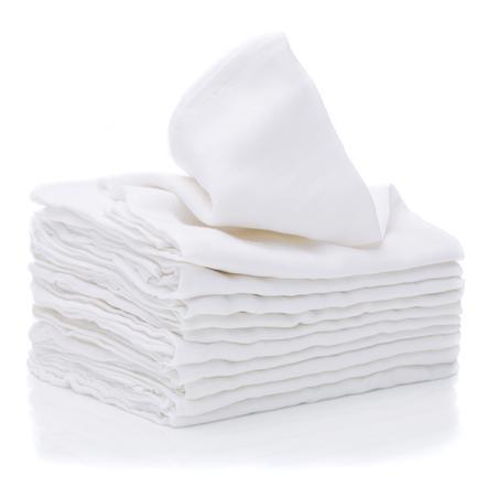 fillikid Mussole in cotone 10 pezzi bianche