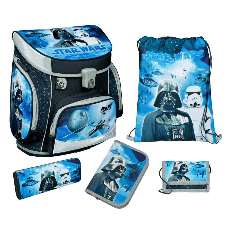 UNDERCOVER Scooli Campus Fit Pro Schoolbag Set Star Wars