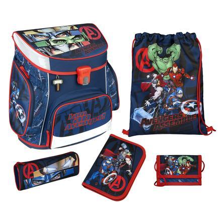 SOUS COUVERTURE Scooli Campus Fit Pro Schoolbag Set Avengers