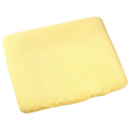 ODENWÄLDER Frottee Wickelauflagenbezug 75x85cm gelb