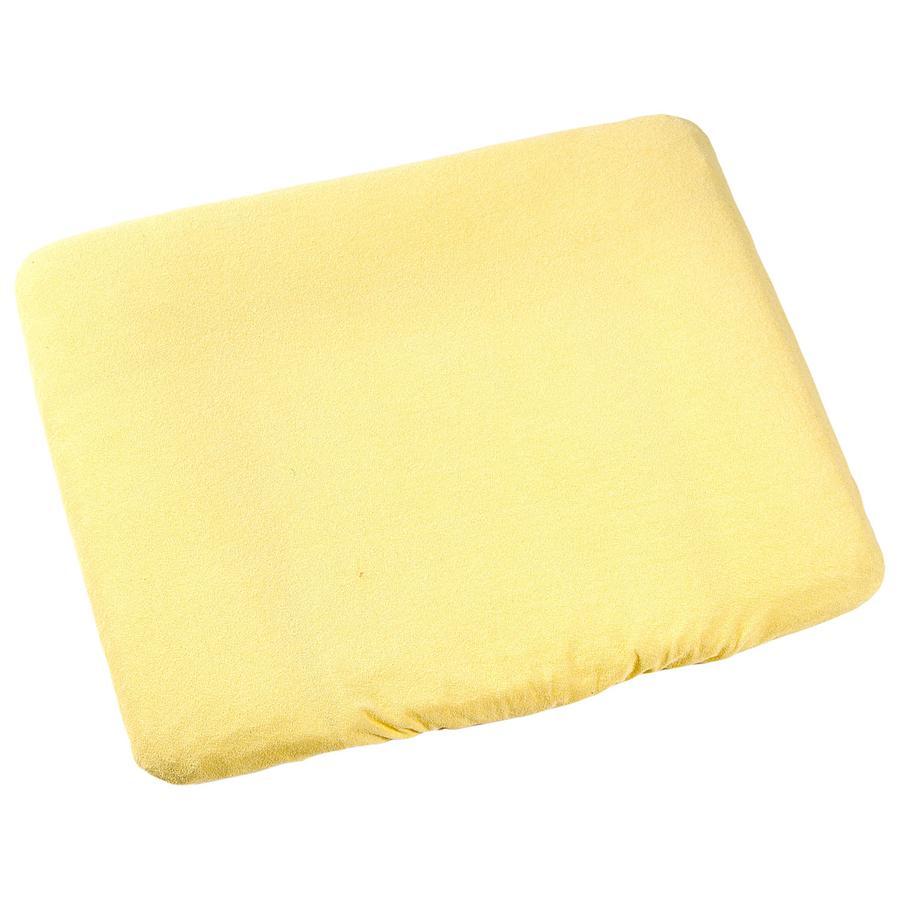 ODENWÄLDER Frotté Klädsel/överdrag till skötbädd 75x85 cm gul