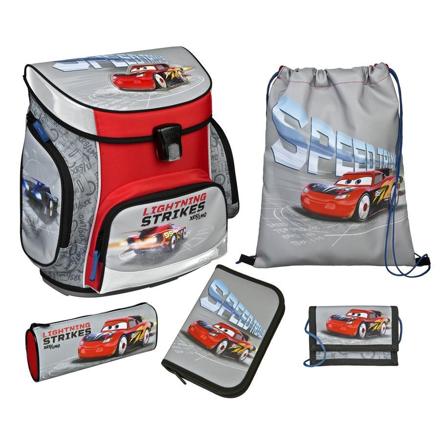 UNDERCOVER Scooli Campus Fit Pro Schoolbag Set Cars