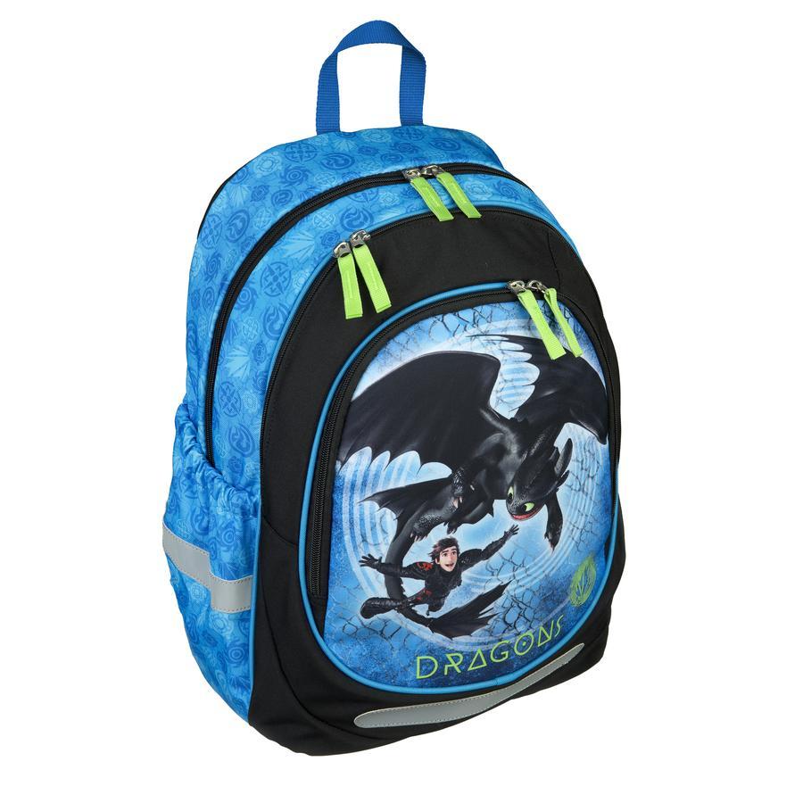 SOUS-COUVERTURE Scooli sac à dos scolaire Dragon