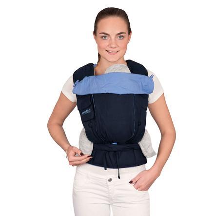 Hoppediz Babytrage Bondolino Plus Klassik marine-hellblau