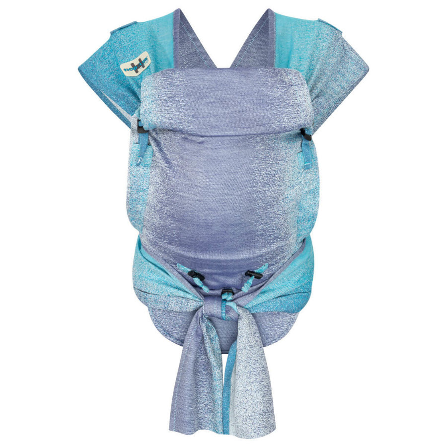 Hoppediz Babydraagzak Hop-Tye Buckle Perth Blue