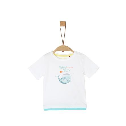 s. Olive r T-shirt white
