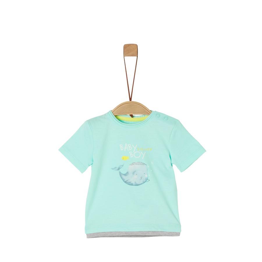 s. Olive r T-shirt light menthe