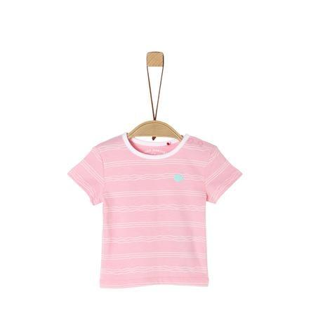 s.Oliver tričko světle růžové
