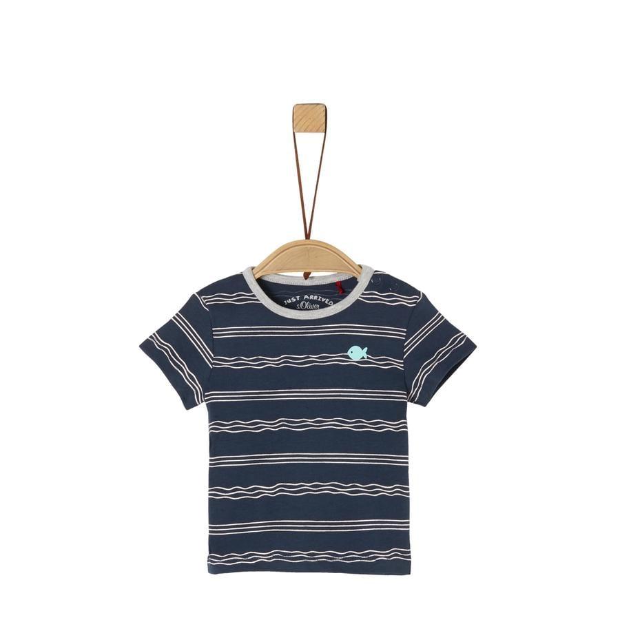 s.Oliver T-Shirt navy