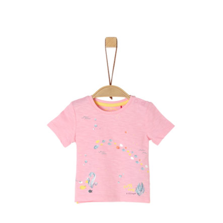 s. Olive r T-shirt light rose
