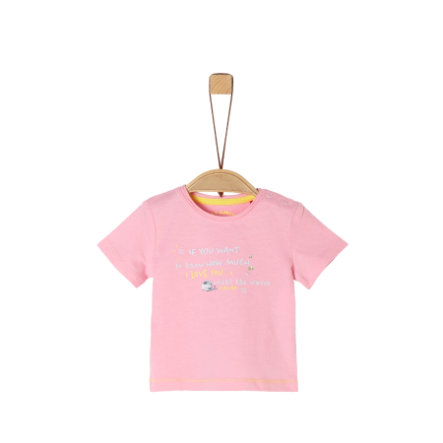 s. Oliver tričko, světle růžové