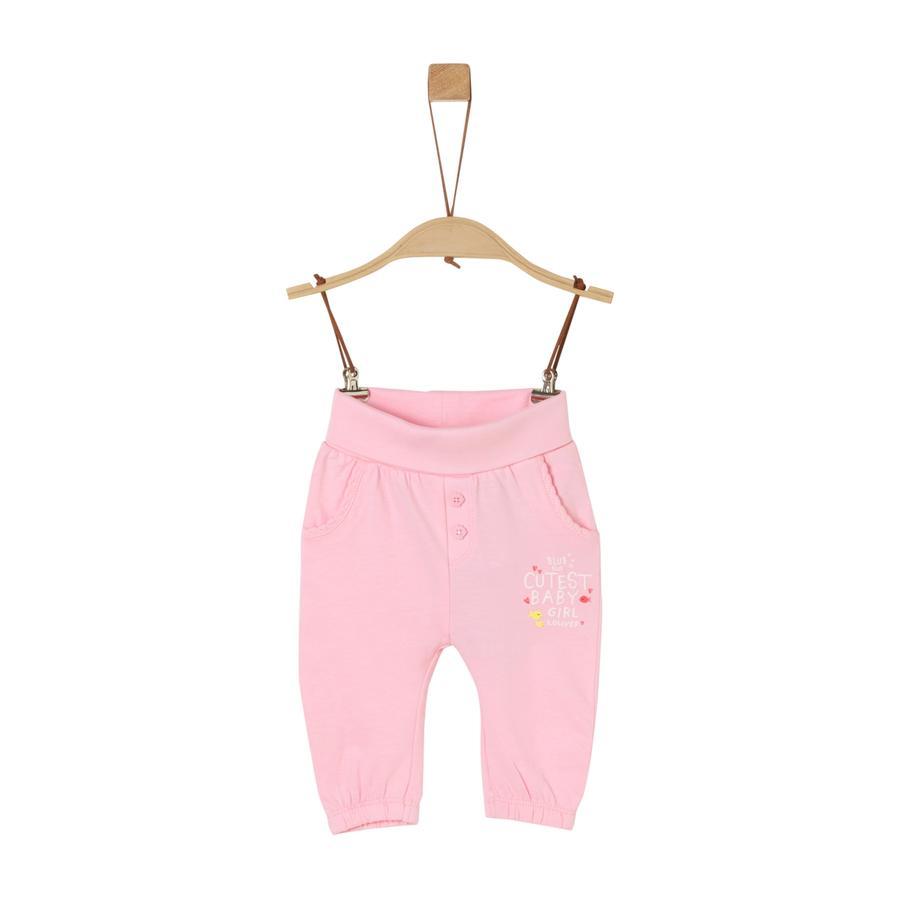 s.Oliver Sweathose light pink