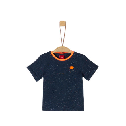 s. Olive r T-Shirt blauw gemêleerd