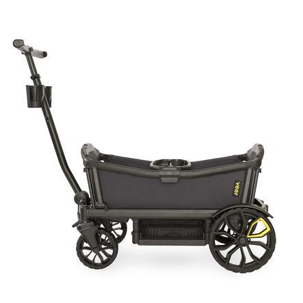 Veer Chariot enfant Cruiser gris foncé/noir