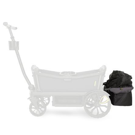 Veer Panier arrière pour chariot enfant gris foncé/noir