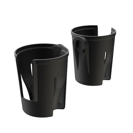 Veer cup holdere (sett med 2) svart