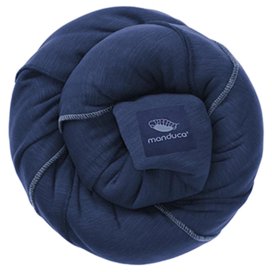 manduca Écharpe de portage Sling bleu marine