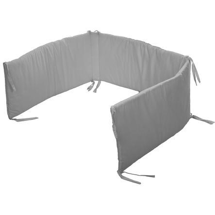 fillikid Tour de lit enfant gris, 190x30 cm
