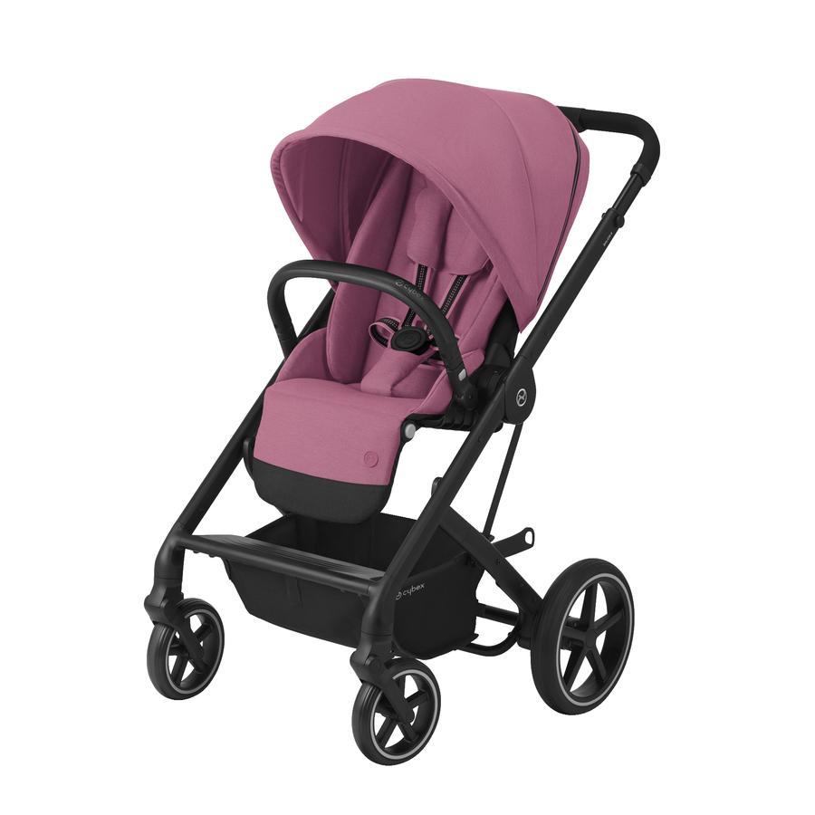 cybex GOLD Kinderwagen Balios S Lux Black Magnolia Pink