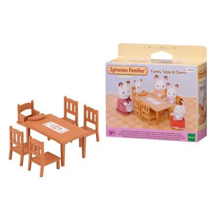SYLVANIAN FAMILIES Möbler - Matbord och stolar