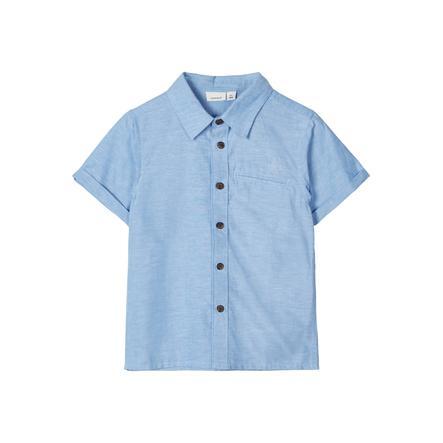 name it Shirt nmmfugl sterling blauw