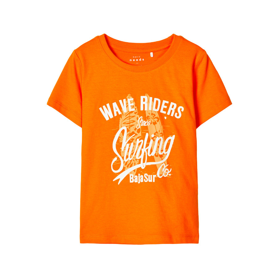 NAME IT T-skjorte NMMVAGNO Vibrant Orange