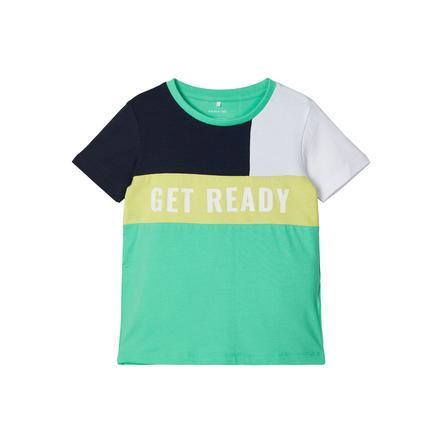 name it T-shirt NMMHANK Veerblauw