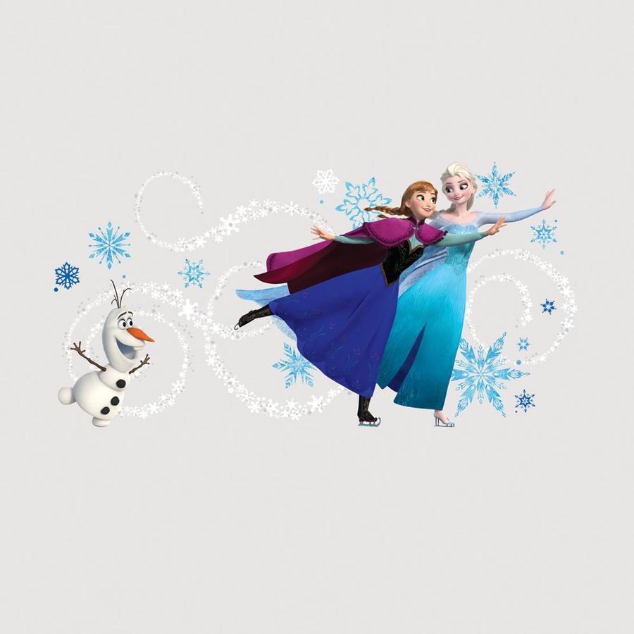 RoomMates® Wandsticker - Disney Frozen Anna, Elsa & Olaf