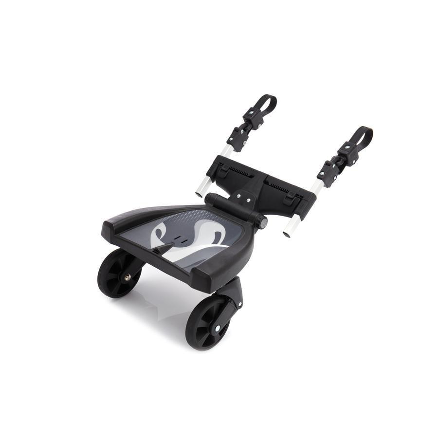 fillikid Planche à roulettes poussette Filliboard 180° noir/gris