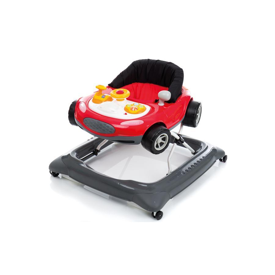 filikid gåstol bil grå/rød