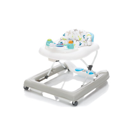 fillikid Baby walker 2 i 1 fly grått / blått