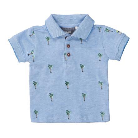 STACCATO Poloshirt soft ocean Alloverprint