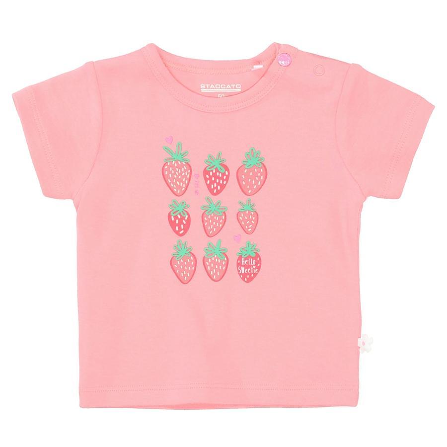 STACCATO tričko měkké růžové