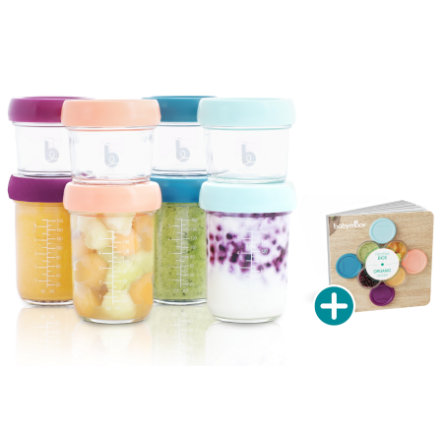 babymoov Nahrungsbehälter Babybols aus Glas Multiset