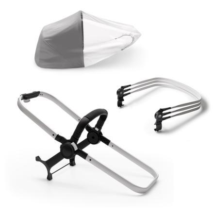 bugaboo Kit extension de poussette de base Donkey 3 Duo aluminium