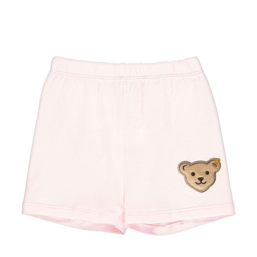 Steiff Shorts barely roze