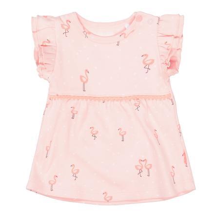 STACCATO  La túnica peach con un patrón suave