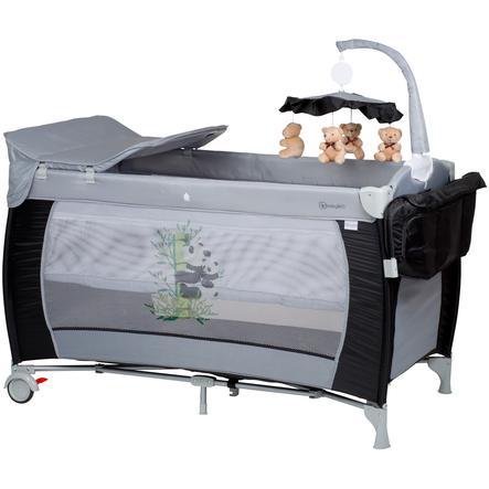 babyGO Travel bed Sleeper deluxe - svart