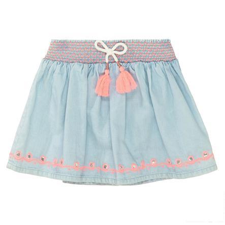 STACCATO kjol jeansblå