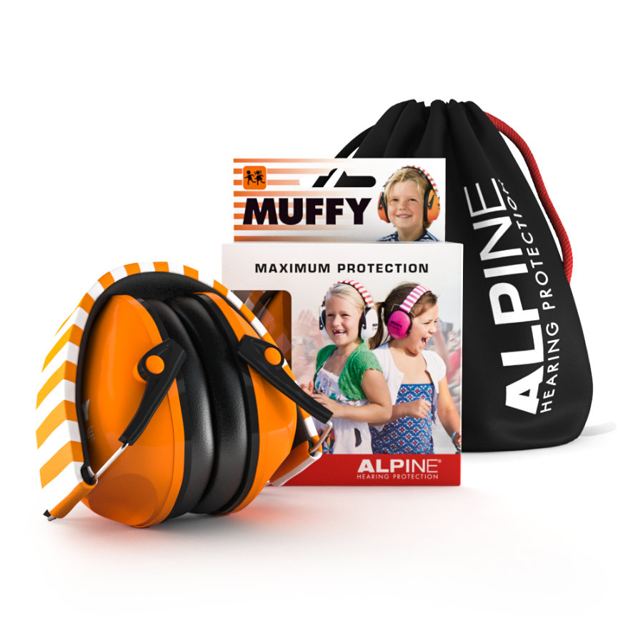Alpine Gehörschutz Muffy, orange