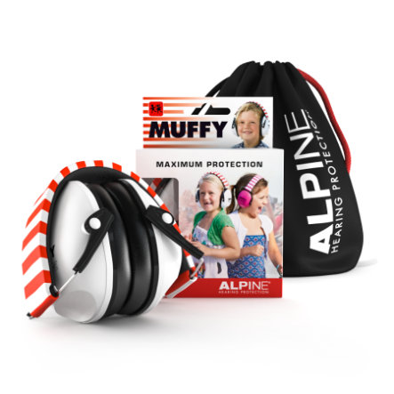 Alpine Gehörschutz Muffy, weiß