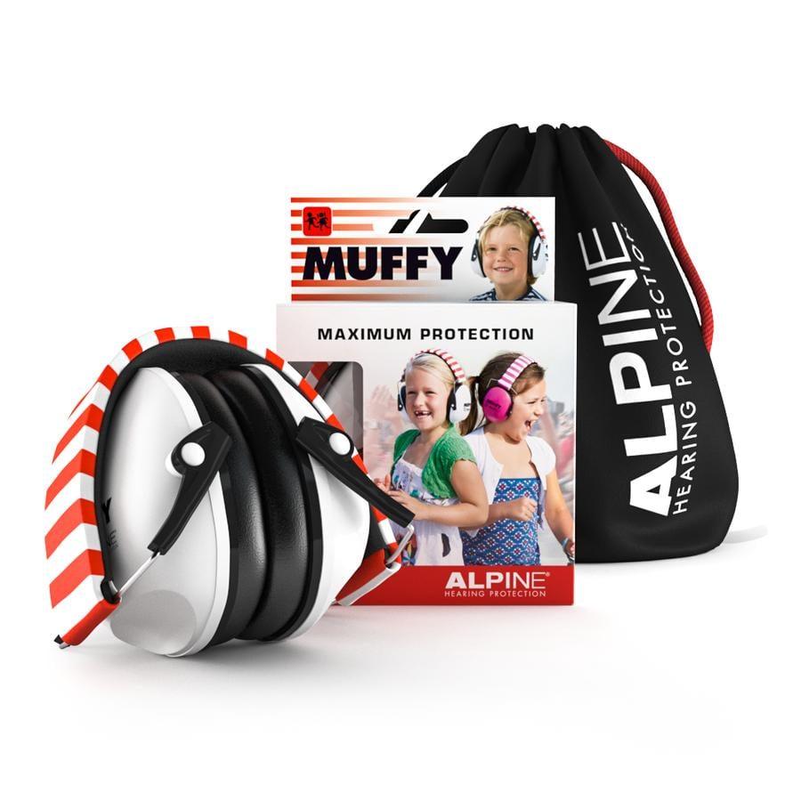 Alpin e Ochrana sluchu Muffy, bílá