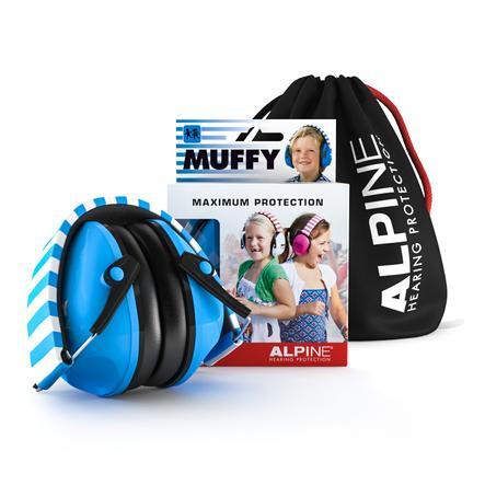 ALPINE Casque auditif anti bruit enfant Muffy, bleu