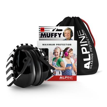 Alpine Gehoorbescherming Muffy, zwart