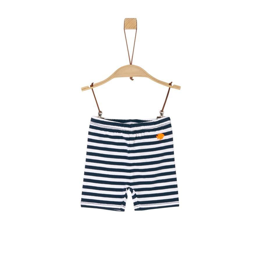 s. Olive r Shorts mørkeblå striber