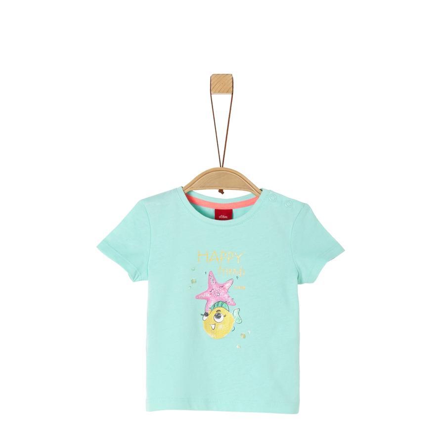 s.Oliver T-Shirt pfefferminze