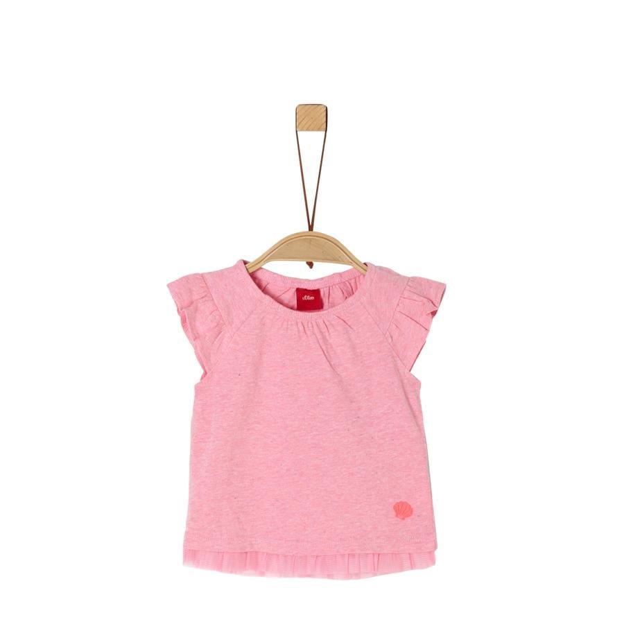 s.Oliver T-Shirt pink melange