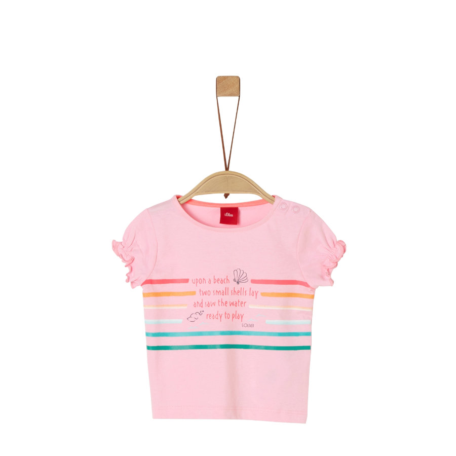 s. Olive r T-shirt light roze
