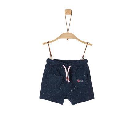 s. Oliver Sweat shorts blå melange
